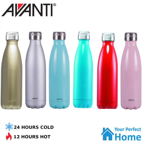 Avanti Fluid Twin Wall Vacuum Water Bottle 500ml |Stainless Steel | Light Weight