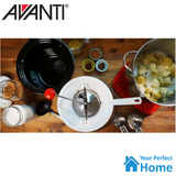 Avanti Plastic Rotary Food Mill includes 3 Stainless Steel Blades Ricer/Mouli