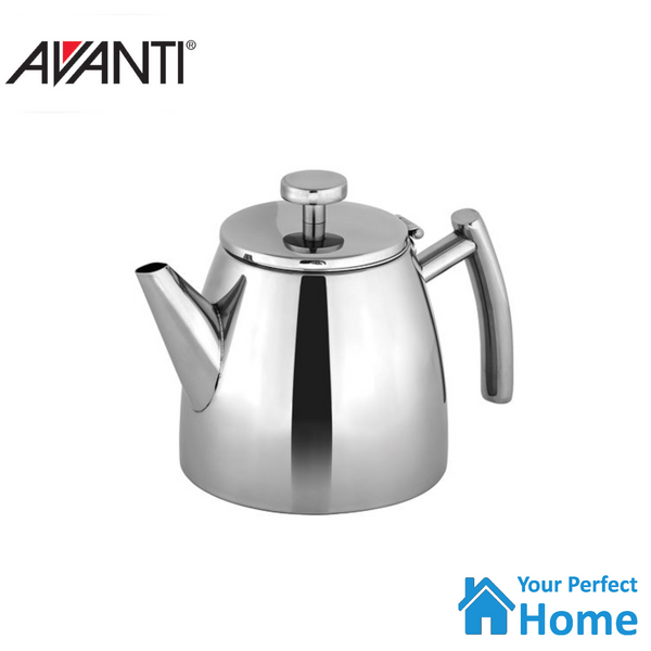 Avanti Modena Double Walled Teapot 1.2 Litres Stainless Steel