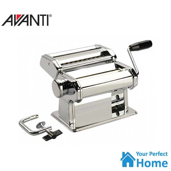 Avanti Pasta Maker Machine Fettuccine/Spaghetti 180mm Stainless Steel