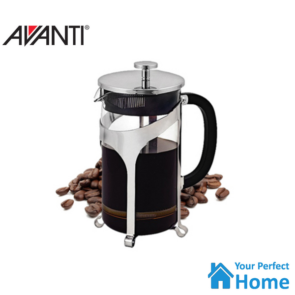 Avanti Cafe Press Coffee Plunger 1 Litre with Scoop French Espresso Tea Maker