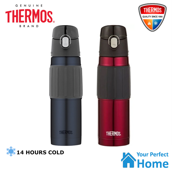 THERMOS 530ml S/Steel Vacuum Insulated Travel Hydration Bottle w/ Flip Spout