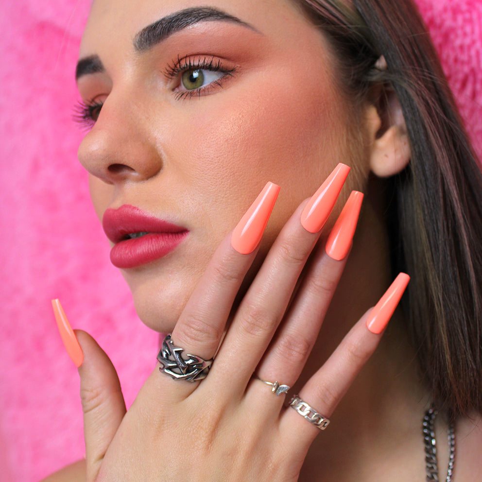 Poppin' Peach SCENTED Nail Polish