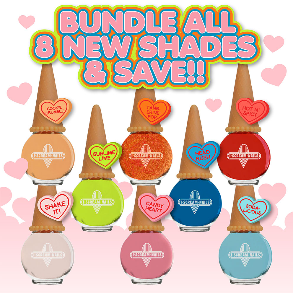 8 New Shades Bundle