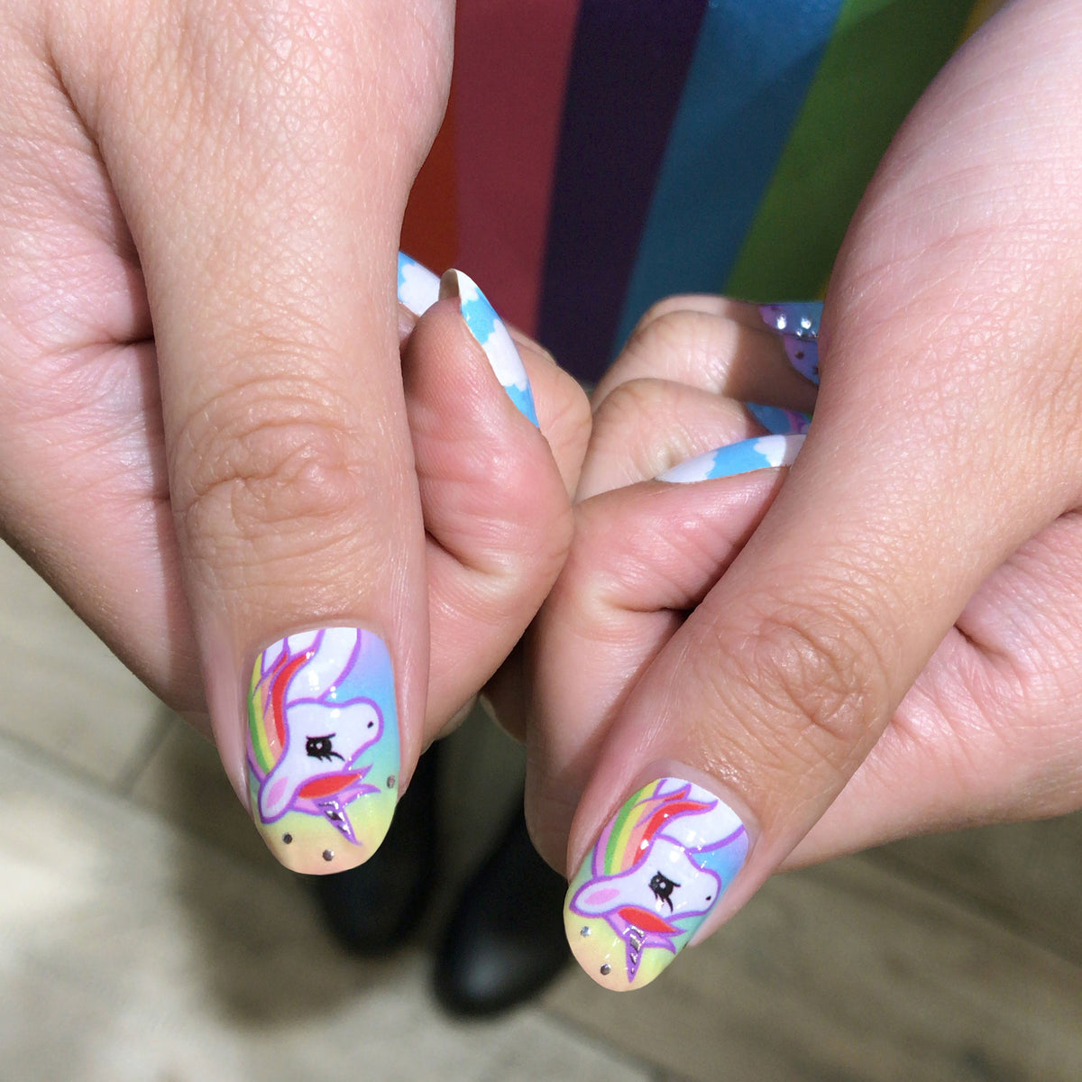 Unicorn Utopia Nail Wraps