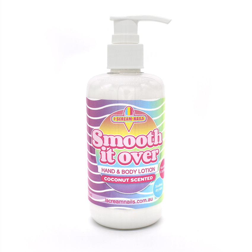 Smooth it Over Hand and Body Lotion - Coconut scented 250ml