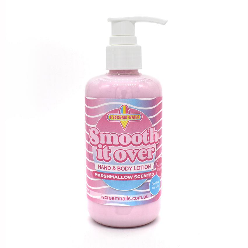 Smooth it Over Hand and Body Lotion - Marshmallow scented 250ml