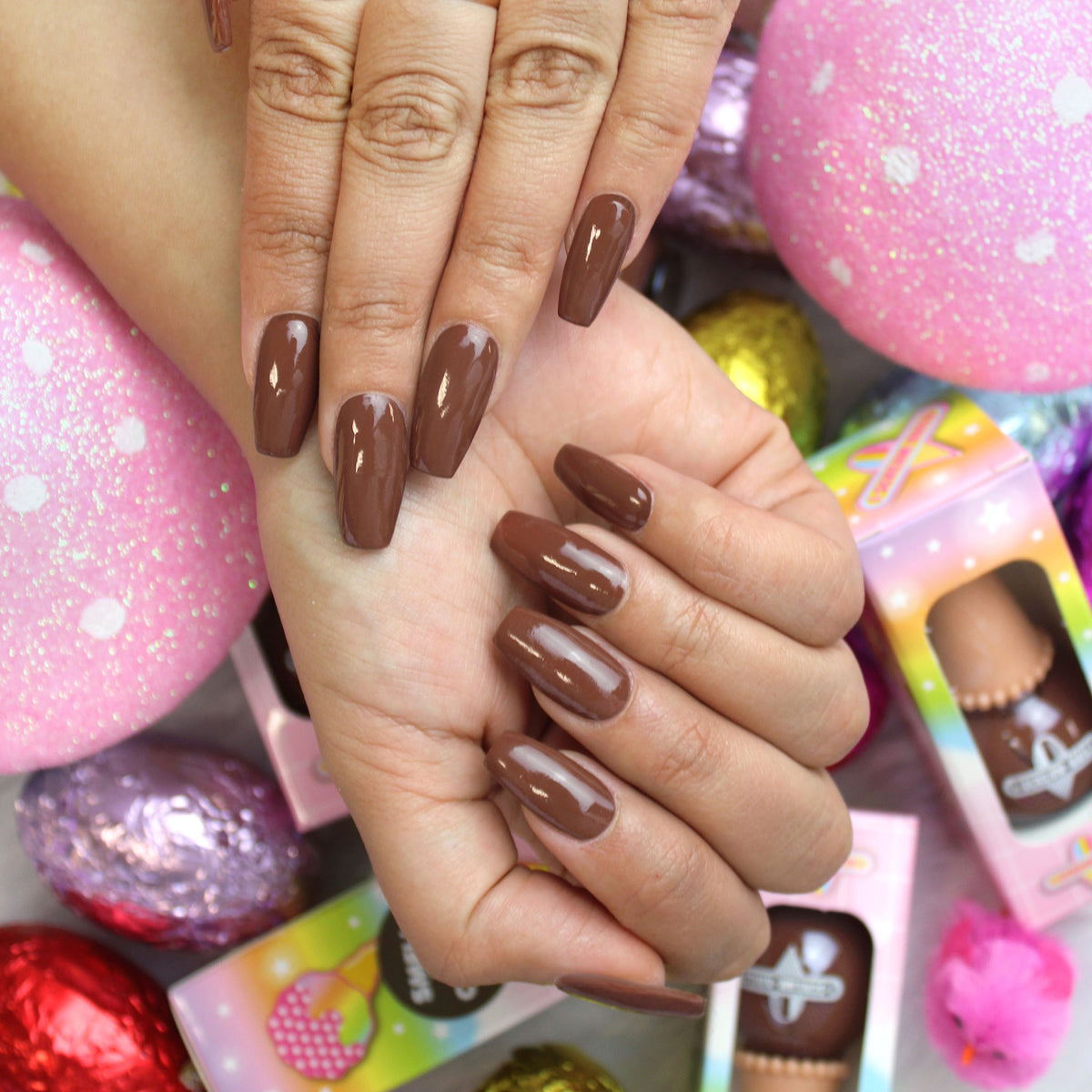 Chocolate Coma SCENTED Nail Polish