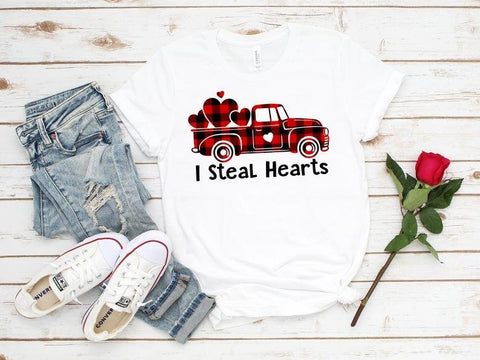 Tricou I steal hearts