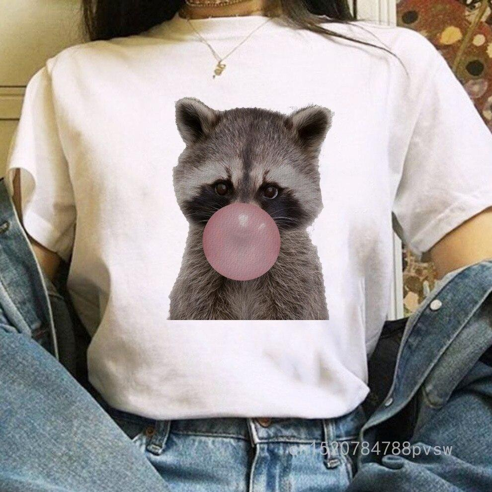 Tricou Raccoon bubble - Sabas