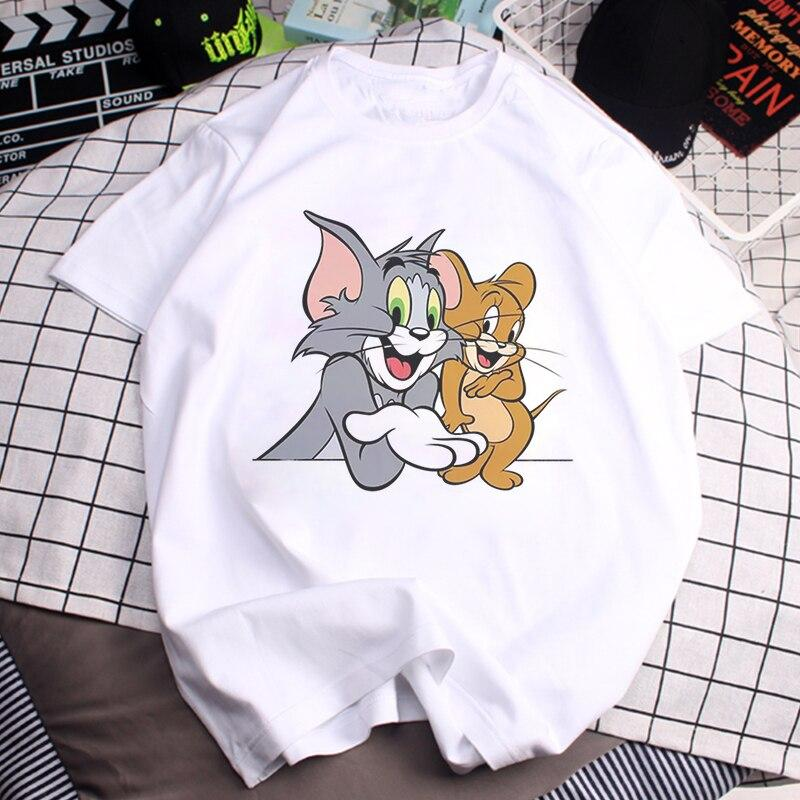 Tricou Oversized tom and Jerry - Sabas