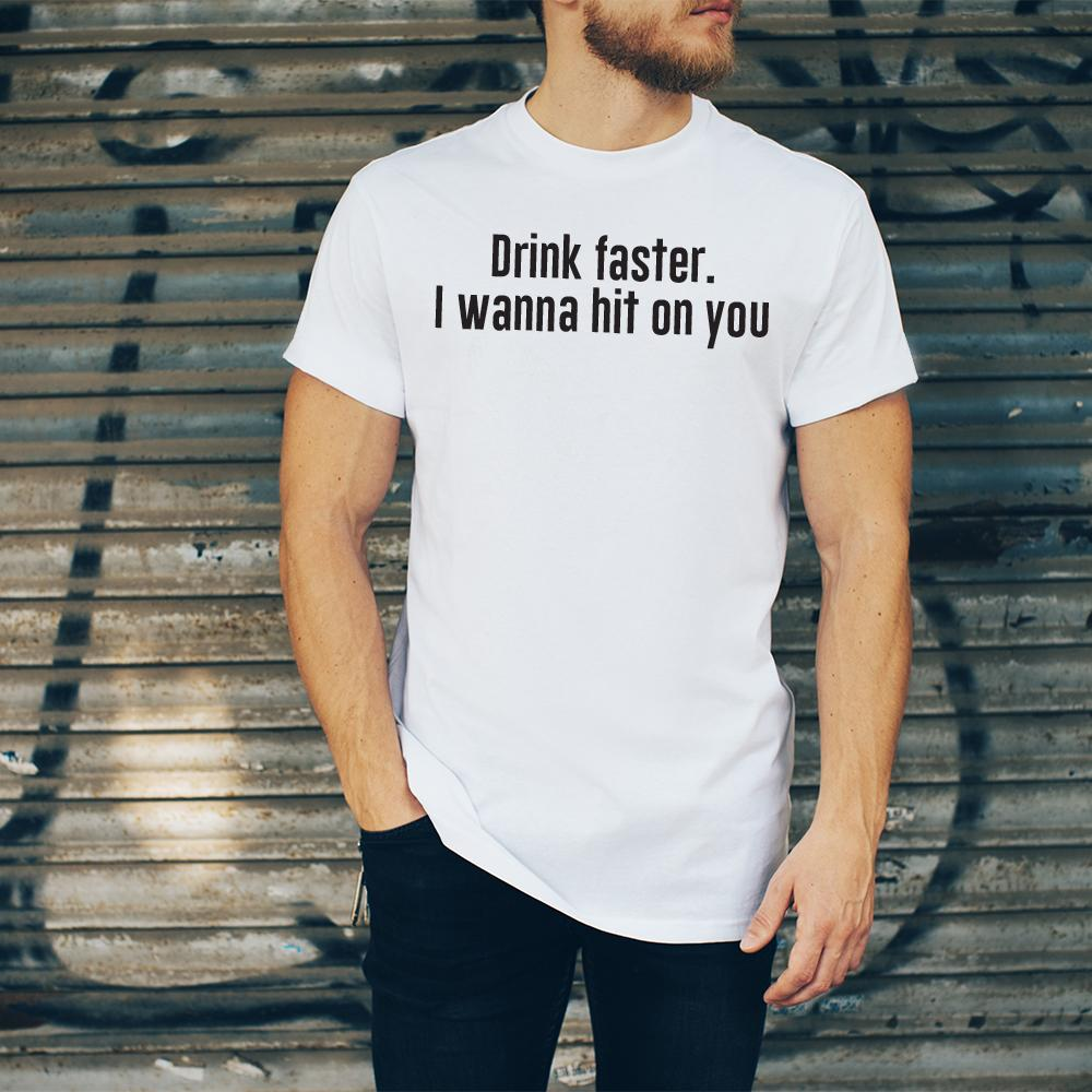 Tricou Drink Faster - Sabas