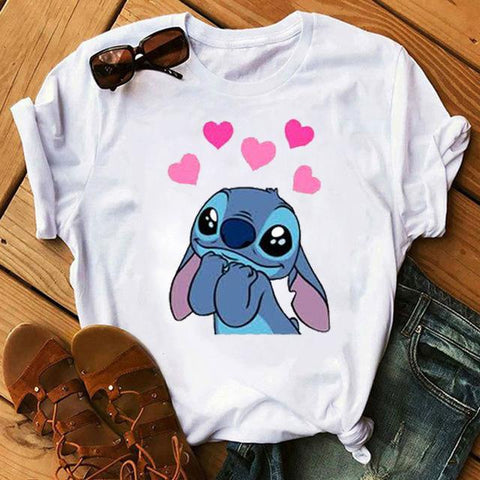Tricou Stitch in Love