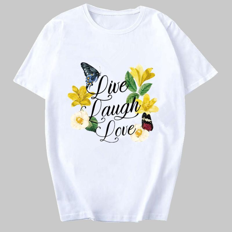 Tricou Live, Laugh, love - Sabas