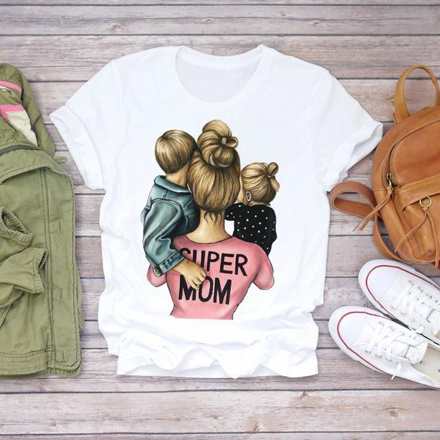 Tricou Mother Of A Boy And The Girl Blonde - Sabas