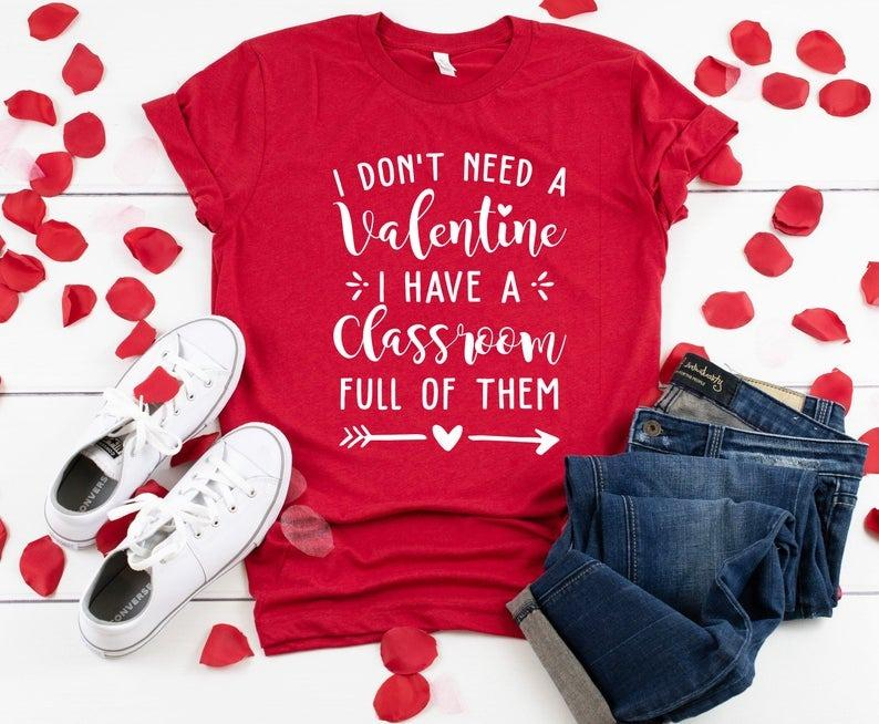 Tricou Dont Need Valentine - Sabas