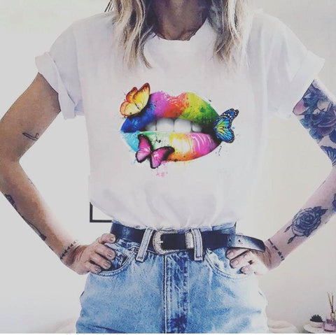Tricou Butterfly Rainbow