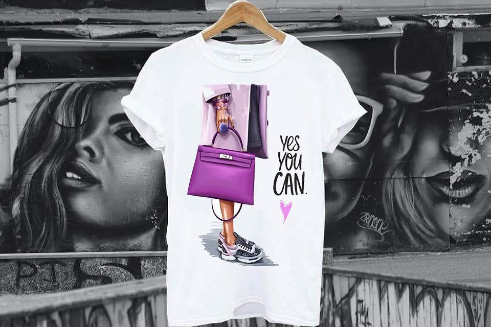 Tricou Yes You Can - Sabas