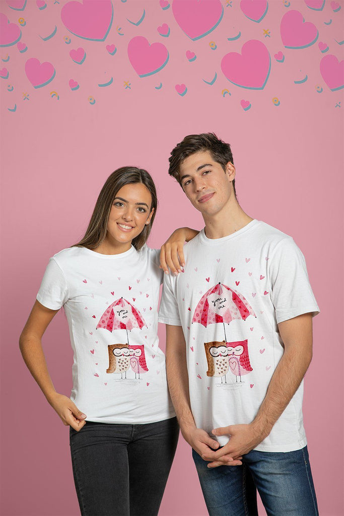 Set Tricou Owl You and Me - Sabas
