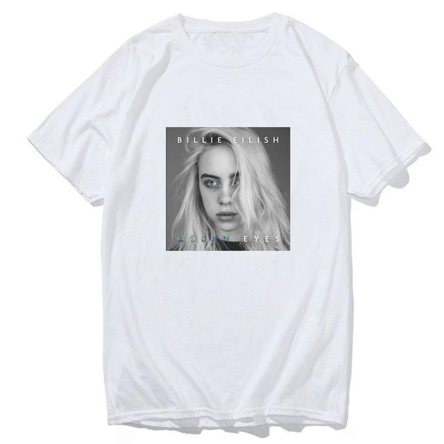 Tricou Billie Eilish Ocean Eyes - Sabas