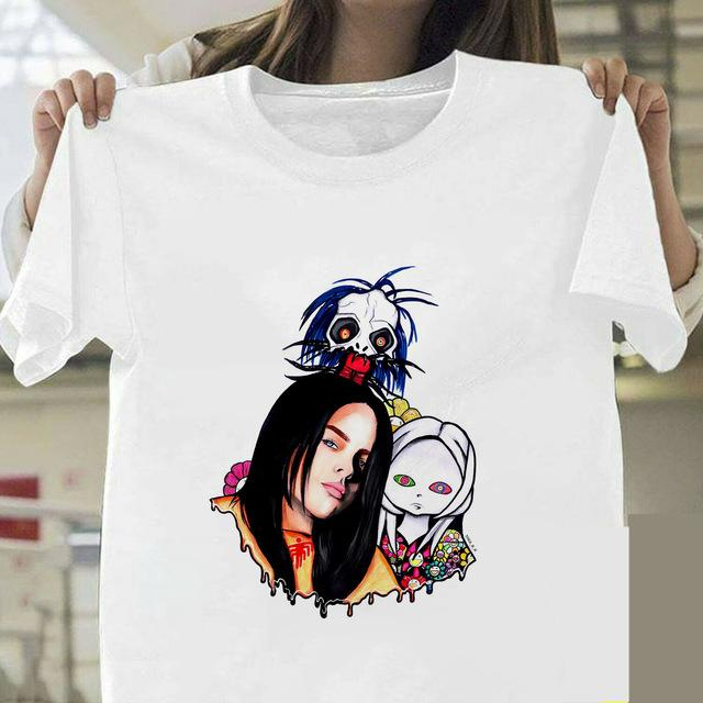 Tricou Billie Eilish Anime - Sabas