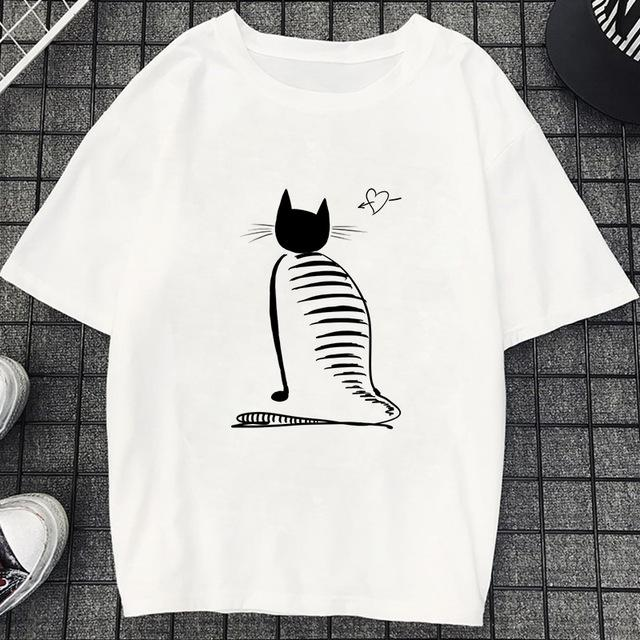 Tricou Oversized Cat - Sabas