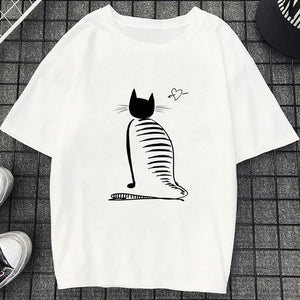 Tricou Oversized Cat
