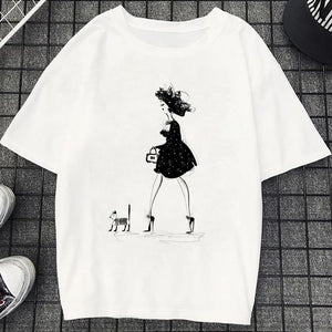 Tricou Oversized Dress Dog