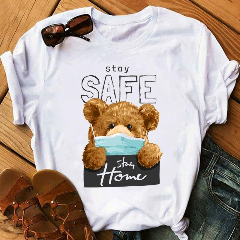 Tricou Teddy Stay Home - Sabas