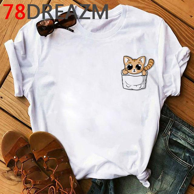 Tricou Oversized Cute Cat - Sabas