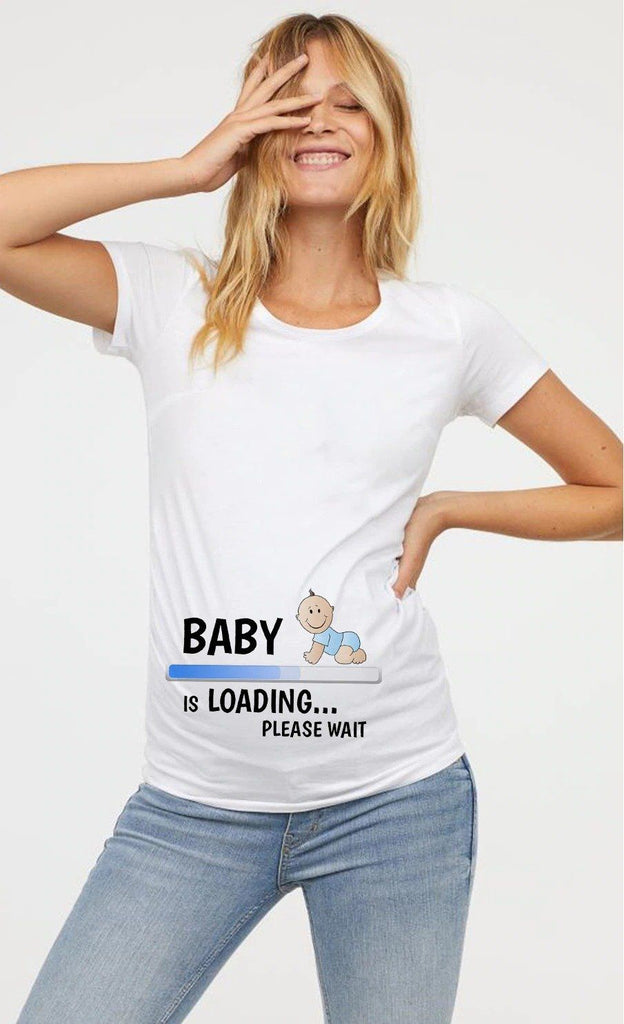 Tricou Baby Is Loading - Sabas