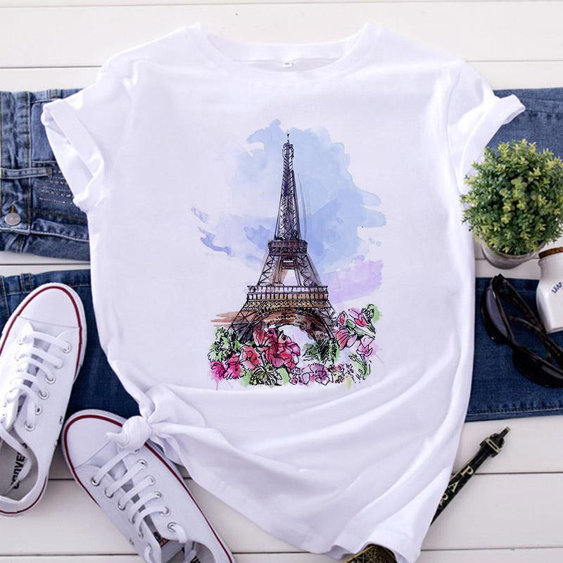 Tricou WaterColor Paris - Sabas