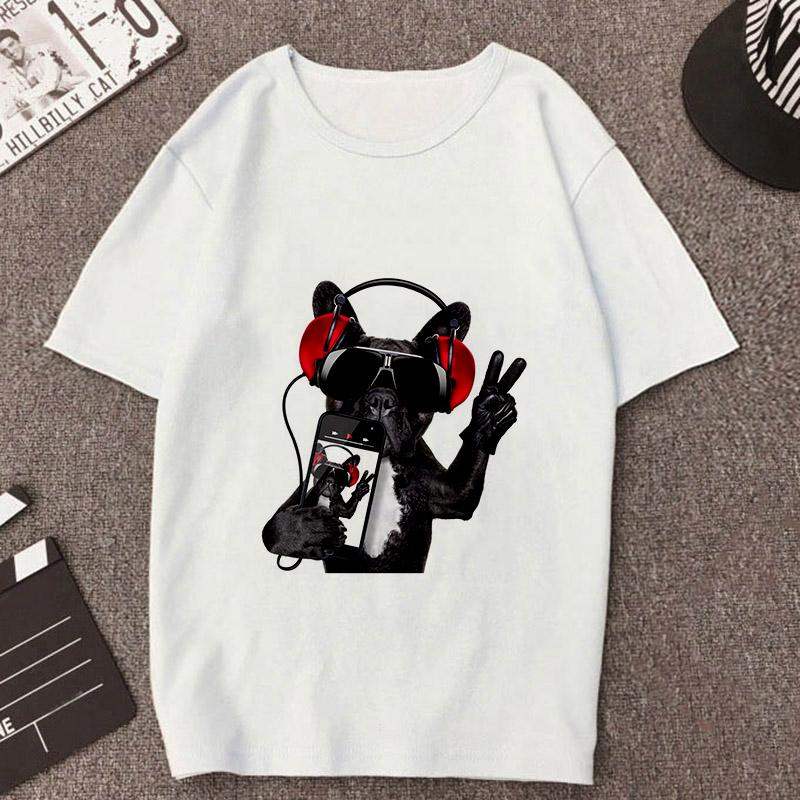 Tricou French Bulldog Photograph - Sabas