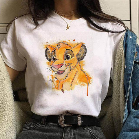 Tricou Cartoon Simba