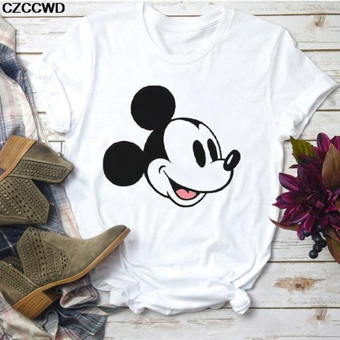Tricou Mickey Face