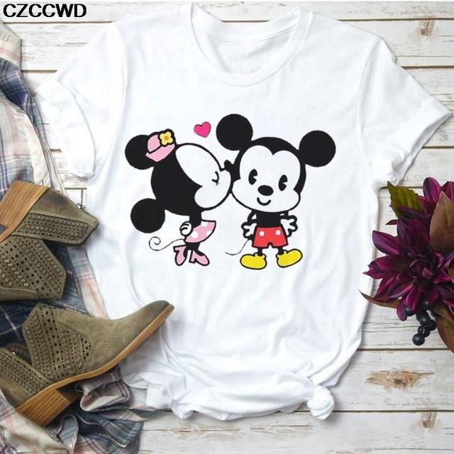 Tricou Mini Mickey & Minnie Love - Sabas