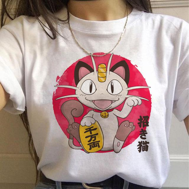 Tricou Happy Meowth - Sabas