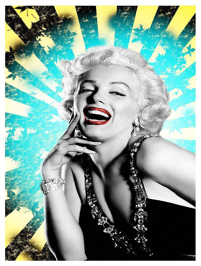 Tablou Laugh Marilyn 3 - Sabas