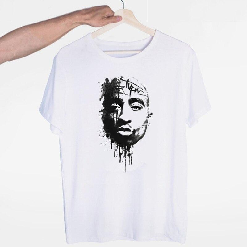 Tricou Tupac Black and White - Sabas