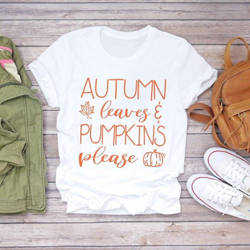 Tricou Autumn Leanves Please - Sabas