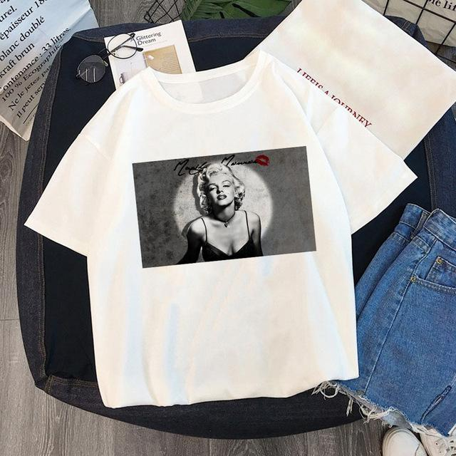 Tricou Oversized Marilyn Monroe Sexy - Sabas