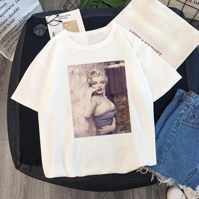 Tricou Oversized Marilyn Monroe Sexy 2 - Sabas