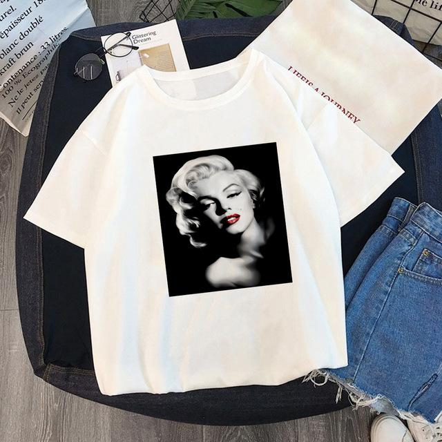 Tricou Oversized Marilyn Monroe Smile On - Sabas