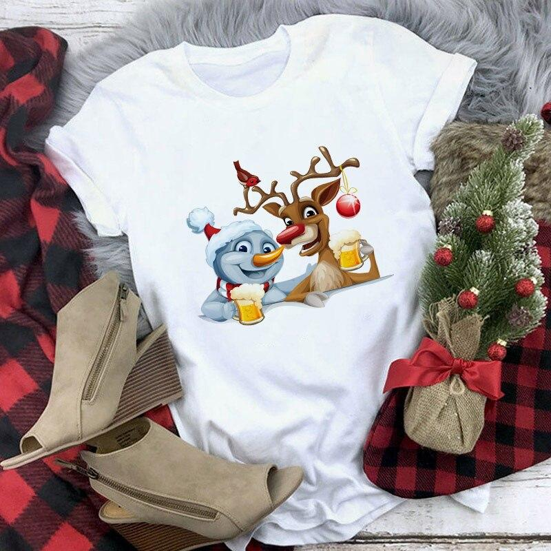 Tricou Snow and Deer - Sabas