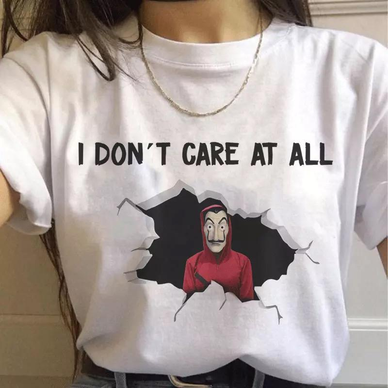 Tricou I Dont Care - Sabas
