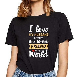 Tricou I Love My husband 4