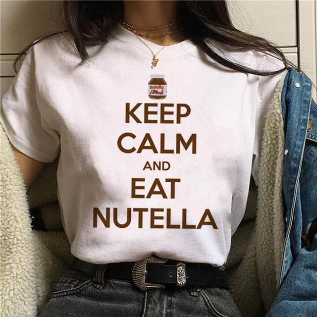 Tricou Keep Calm And Eat Nutella - Sabas