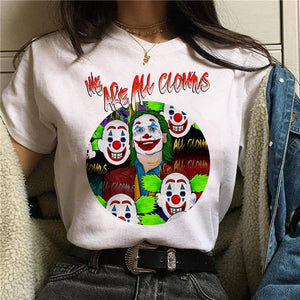 Tricou We Are All Clowns
