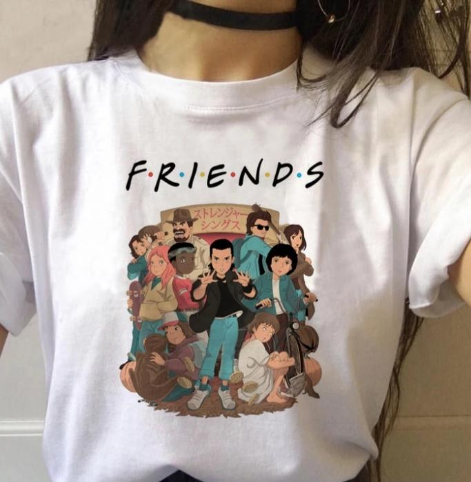 Tricou Stranger Things Friends - Sabas