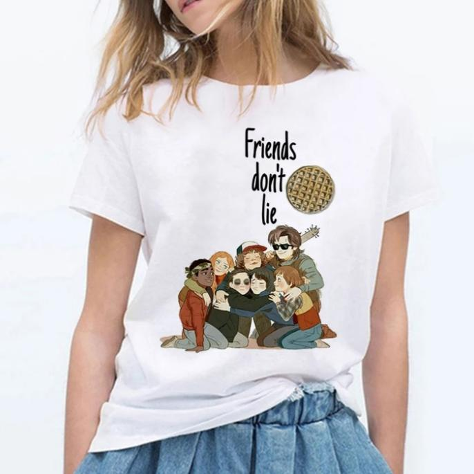 Tricou Friends Dont Lie Anime - Sabas